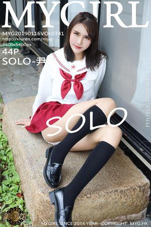 [MyGirl] 2019.01.16 VOL.341 SOLO-尹菲