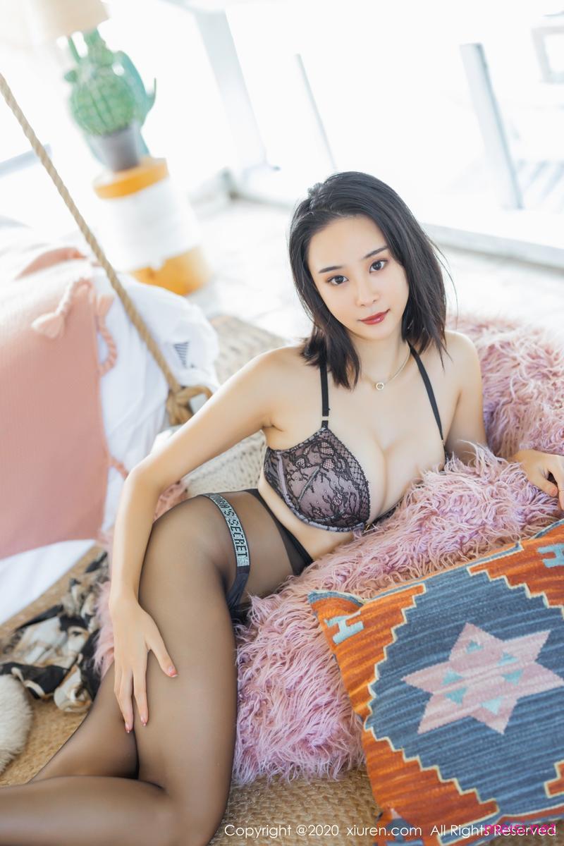 [XIUREN] 2020.10.10 蓝夏Akasha