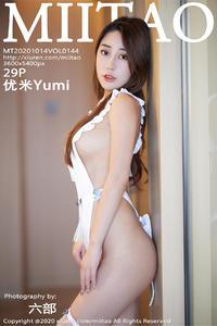[MiiTao] 2020.10.14 VOL.144 优米Yumi P0