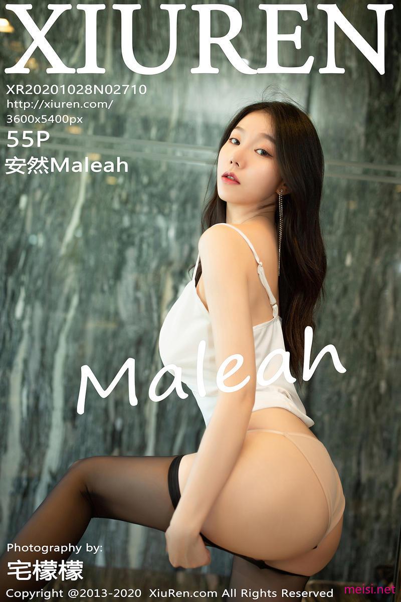 [XIUREN] 2020.10.28 安然Maleah
