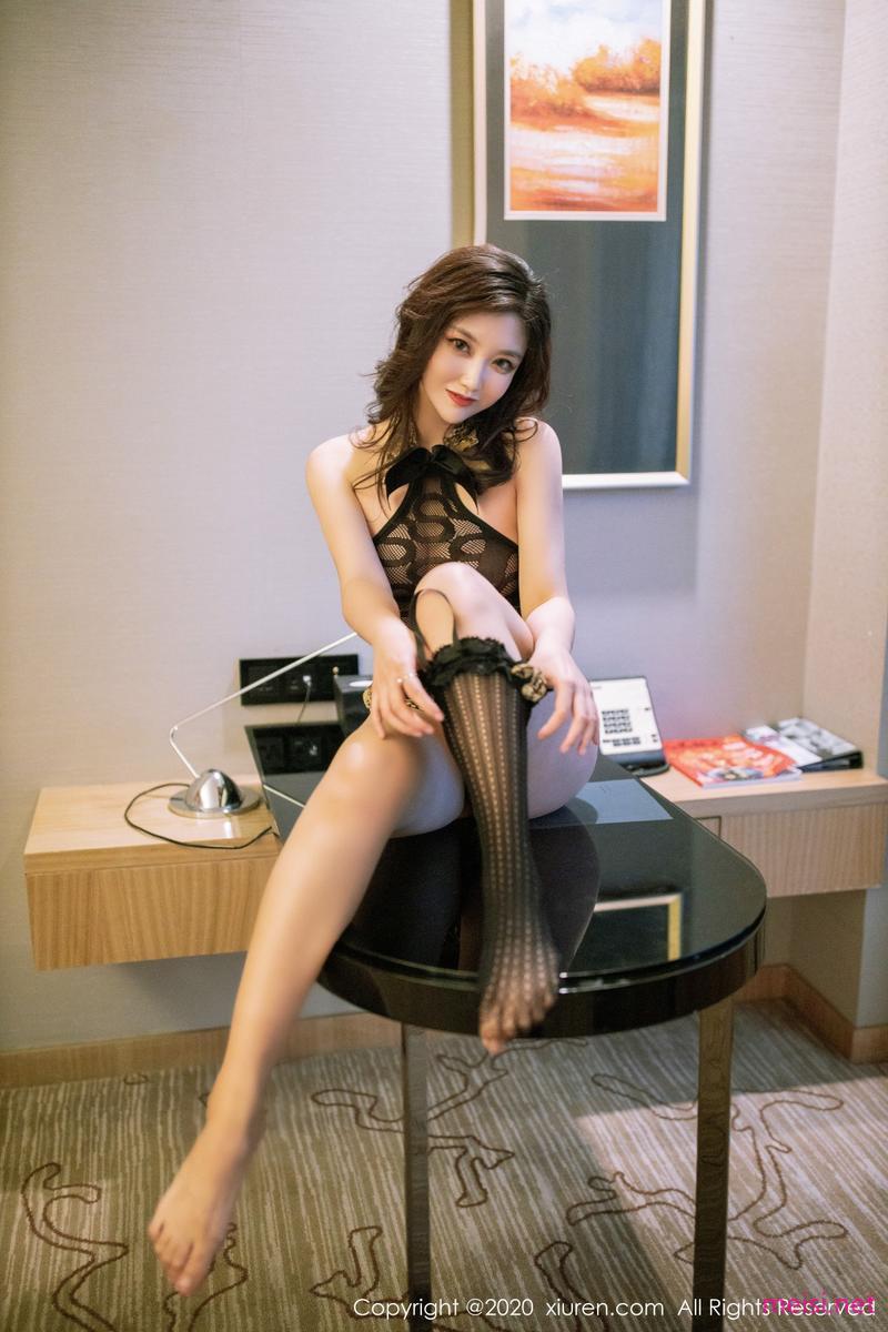 [XIUREN] 2020.12.24 刘艾琳Allen