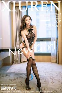[XIUREN] 2020.12.24 刘艾琳Allen P0