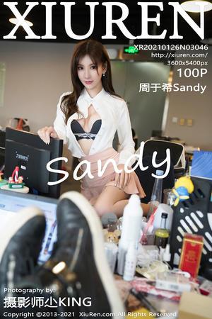 [XIUREN] 2021.01.26 周于希Sandy