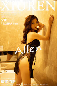 [XIUREN] 2021.02.18 刘艾琳Allen P0